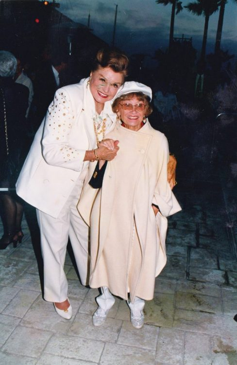 Esther Williams and Estelle Getty